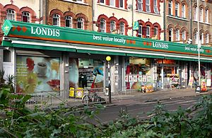Londis (United Kingdom) - A Londis in London in 2007