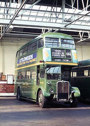 AEC Regent III RT - London Country Bus Services RT in 1972