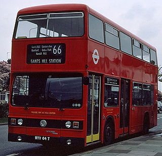 Leyland Titan (B15) Double deck bus, produced between 1978 and 1984