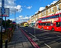 London W4 bus route, Bruce Grove at The Avenue,Tottenham.jpg