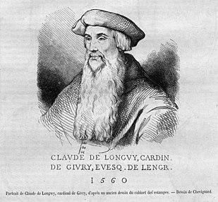Claude de Longwy de Givry Catholic cardinal