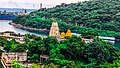 Lord Shri Venkateswara Swami temple from Rosehill, Visakhapatnam.jpg