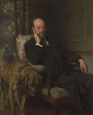 Hallam Tennyson, 2nd Baron Tennyson - Lord Tennyson, 1908, Briton Rivière.