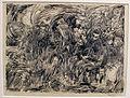 Lorenzo viani, uomini, spettri e rospi, 1907-08, china su carta.JPG