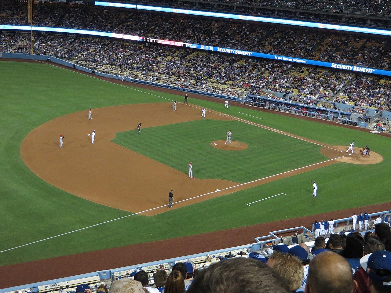 File:Los Angeles Dodgers 1, St  Louis Cardinals 0, Dodger