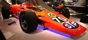 1968 Indianapolis 500 - Graham Hill's 1968 Lotus 56 Turbine