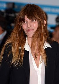 Lou Doillon 2013 in Deauville