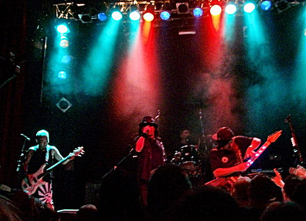 Loudness charted on America's Billboard chart several times in the 1980s. Loudness 2010 01.jpg