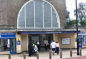 History of Loughton - Loughton underground station