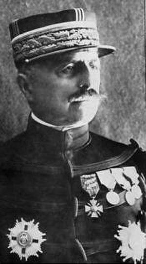 Louis Franchet d'Espèrey - Image: Louis Franchet D'Esperey