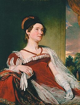 Louisa Catherine Johnson Adams, first lady of the USA