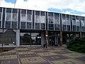 Louny, autobusové nádraží, budova, vnější strana.jpg