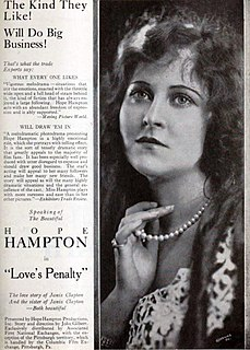 <i>Loves Penalty</i> 1921 film directed by John Gilbert