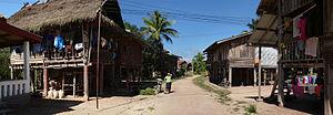 Tai Daeng people - Ban Phieng Ngam, a Thai Daeng (Red Thai) village, Luang Namtha Province, Laos.