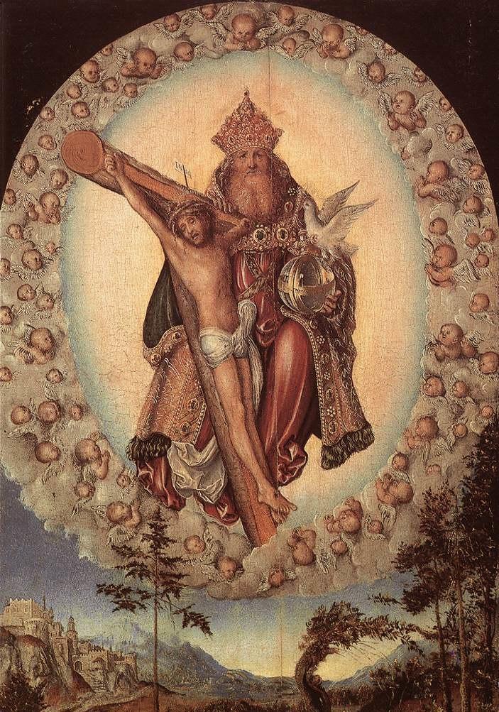 Lucas Cranach d. Ä. - Trinity - WGA05656