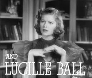 Screenshot of Lucille Ball from the trailer fo...