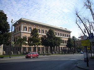 Via Veneto - The US Embassy in Via Veneto.