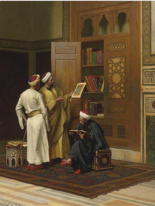 Ludwig Deutsch - The Scholars, 1901
