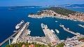 Luftbild vom Hafen Split in Kroatien (48608600556).jpg
