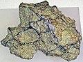 Lunaite (lunar picrite) (Northwest Africa 6950 Meteorite) 1 (17196194310).jpg
