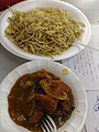 Lunch at West Bengal Wikimedians Strategy Meetup in Kolkata P 20170806 133633 DF 08.jpg