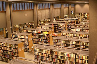 Flemming Lassen - Image: Lunds stadsbibliotek