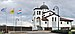 Luxemb Weiler-la-Tour, Greek Orthodox Church with flags.jpg