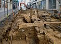 Luxembourg City rue du fossé fouilles 2013.jpg