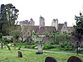 Lympne Castle, Kent - from churchyard - geograph.org.uk - 326062.jpg