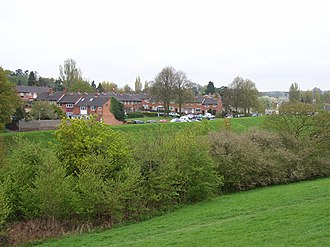Civil parishes in Berkshire - Image: Lynch Hill Lane, Britwell geograph.org.uk 162908