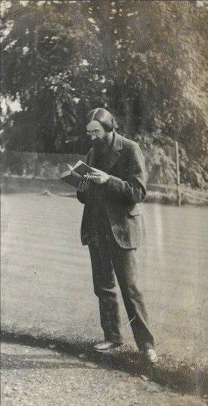 Lytton Strachey - Lady Ottoline Morrell (1873-1938), vintage snapshot print/NPG Ax140336. Lytton Strachey, 1911-12