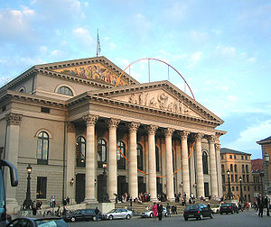 Opera in German - National Theatre Munich, home of the Bavarian State Opera