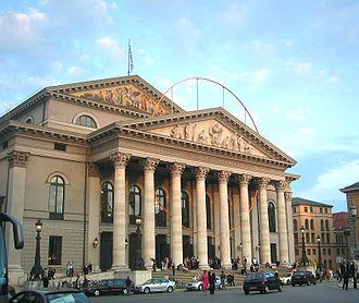 Opera in German - National Theatre Munich, home of the Bavarian State Opera