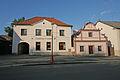 Městský dům (Žleby), Zámecké nám. 63.JPG
