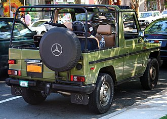 Mercedes-Benz G-Class - Very early, carburetted Mercedes-Benz 230 G Cabriolet