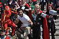 MCM 2013 - Iron Spider, Wolverine & Thor (8978377493).jpg