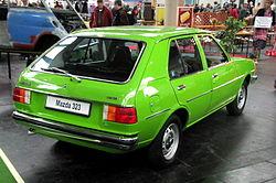 1977 Mazda 323 1.3 (FA4TS, Europe)