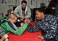 MMA Fighters Tour USS George Washington DVIDS357785.jpg