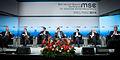 MSC 2014 Brzezinski-Kozhara-Klychko-Slutsky-Garibashvili-Basescu-Fuele Kleinschmidt MSC2014.jpg