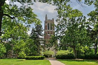 East Lansing, Michigan - Beaumont Tower at Michigan State University