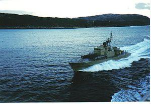 Hauk-class patrol boat - Image: MTB Ravn