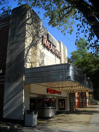 The Palisades (Washington, D.C.) - The old MacArthur Theater, now used as a CVS/pharmacy, in the Palisades