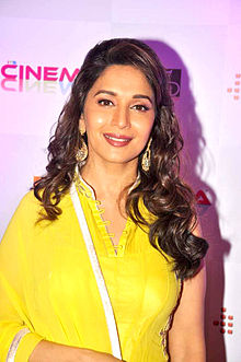Madhuri at the launch of 'Its Only Cinema' magazine 12.jpg