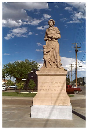 August Leimbach -  Madonna of the Trail, Lamar, Colorado