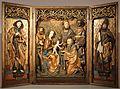 Maestro dell'altare nenkersdorfer (forse matthias plauer), altare con l'adorazione dei magi, 1510-15 ca. 01.jpg