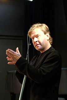 Magnus Lindberg Finnish composer and pianist
