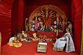 Maha Saptami Puja - Durga Puja Pandal - Biswamilani Club - Padmapukur Water Treatment Plant Road - Howrah 2015-10-20 6071.JPG