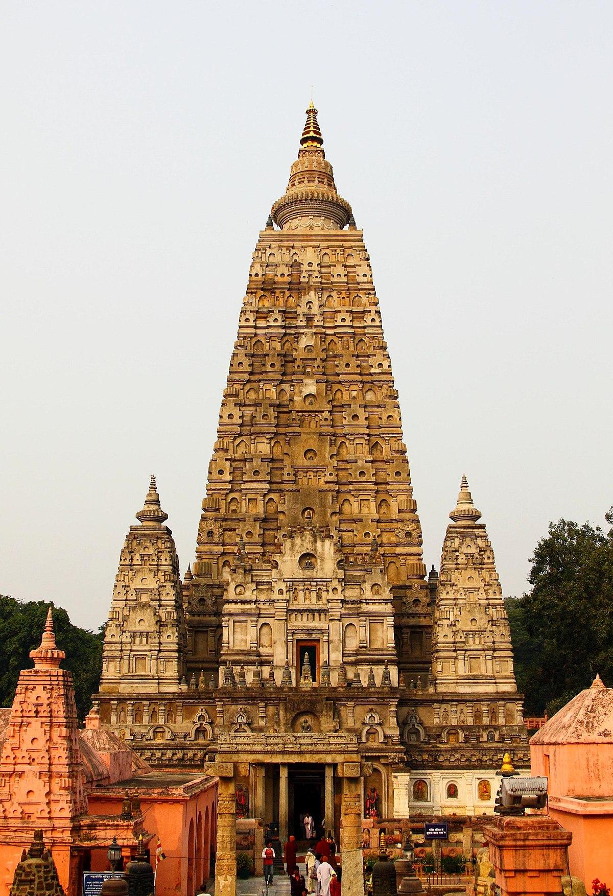 File Mahabodhi Temple Bodh Gaya Jpg Wikimedia Commons