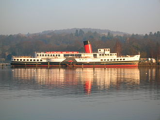 Loch Lomond - Maid of the Loch at Balloch pier