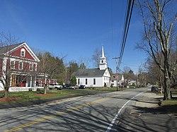 Main Street in Brookline